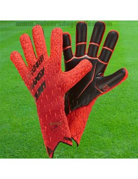 ADIDAS - Predator GL Pro Solar RED GR1529 / 153 Gants de Gardien Match boutique en ligne Gardien de but