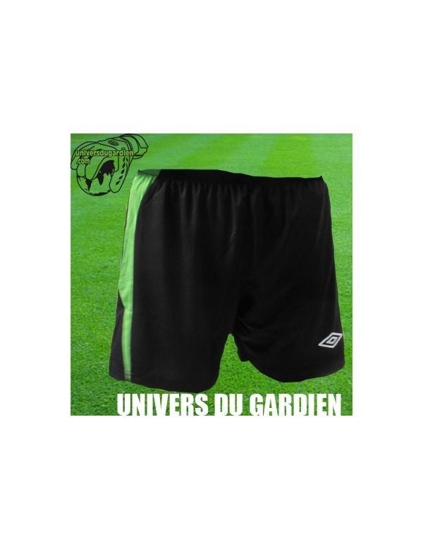 Boutique pour gardiens de but Shorts Joueur (sans protection)  UMBRO - SHORT EURO NOIR / VERT 2300574/258