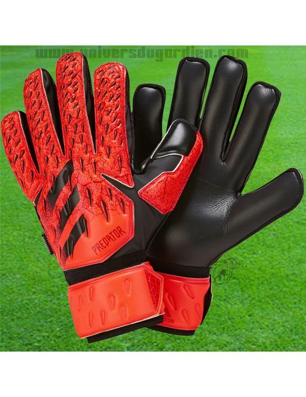 ADIDAS - Predator Fingersave Match Goalkeeper Glove GR1533  / Gants avec Barrettes protection match boutique en ligne Gardien...