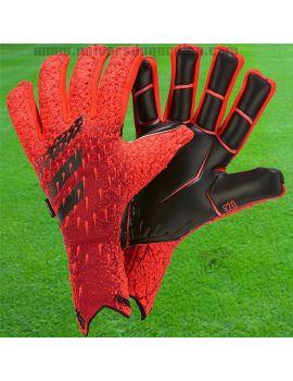 ADIDAS - Predator Pro Fingersave Goalkeeper GV0260 / Gants avec Barrettes protection match boutique en ligne Gardien de but