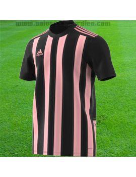 adidas - Maillot manches courtes Striped 21 Noir / Rose H35643 / 112 Maillot manches courtes boutique en ligne Gardien de but