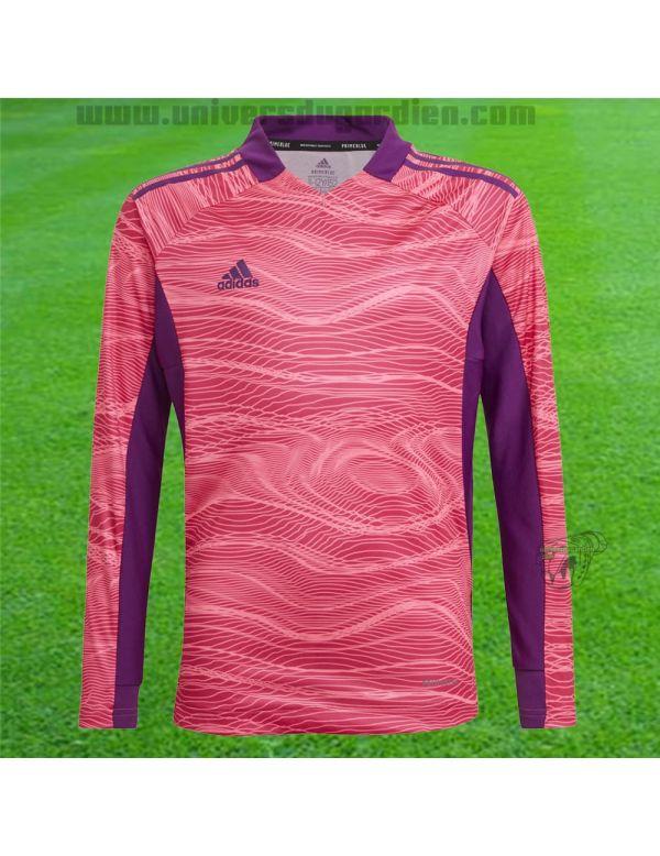 Boutique pour gardiens de but Kit gardien junior  Pack Maillot / Short Adidas Condivo 21 Junior rose