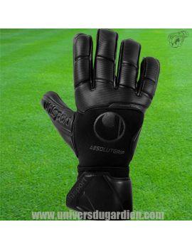Uhlsport - Comfort Absolutgrip FULL BLACK 101121601 /16 Gants de Gardien Match boutique en ligne Gardien de but