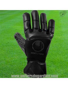 Uhlsport - Comfort Absolutgrip HN FULL BLACK 101121501 /16 Gants de Gardien Match boutique en ligne Gardien de but
