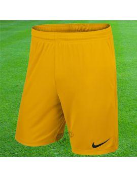Boutique pour gardiens de but Shorts Joueur (sans protect.)  Nike - Short Knit Park II jaune 725887-739 / 32