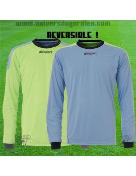 Boutique pour gardiens de but Maillots gardien junior  Uhlsport - Maillot gardien Reversible bleu/vert jr 100554602 / 82