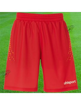 Boutique pour gardiens de but Shorts Joueur (sans protection)  Uhlsport - Short Anatomic Endurance rouge 100554401