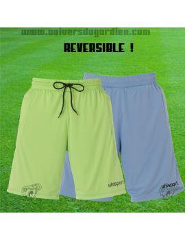 Boutique pour gardiens de but Shorts gardien junior  Uhlsport - Short gardien Reversible bleu/vert JR 12 100554702/ 82