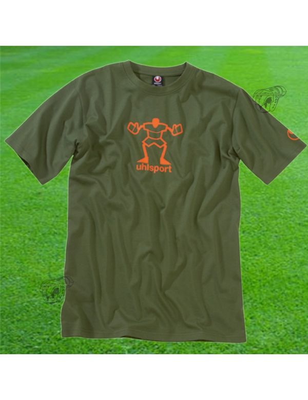 Boutique pour gardiens de but Polos / t-shirts  Uhlsport - T-shirt gardien olive 100205802 / 23