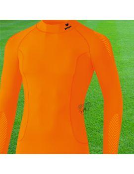 Boutique pour gardiens de but Sous maillots gardien  Erima - Support Longsleeve orange 2250740