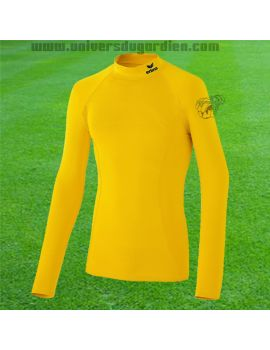 Boutique pour gardiens de but Sous-short et sous maillots gardien Junior  Erima - Support Longsleeve Jaune Junior 2250710