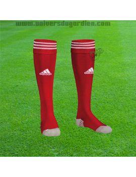Boutique pour gardiens de but Chaussettes gardien  Adidas - Adisock Rouge blanc X20992