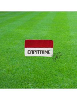 Boutique pour gardiens de but Accessoires  Brassard capitaine blanc/ rouge B1