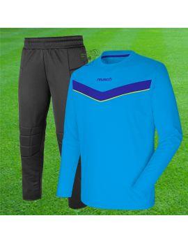 Boutique pour gardiens de but Maillots gardien junior  Reusch - Set Junior Bleu ciel 3740200-411 / 34