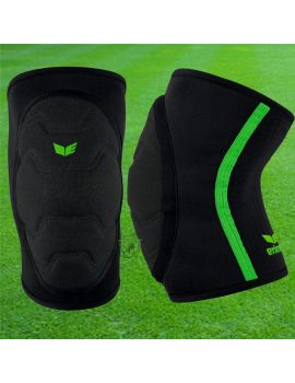 Boutique pour gardiens de but Protections  Erima - Genouillère Bandage Noir Vert 7240701 / 111