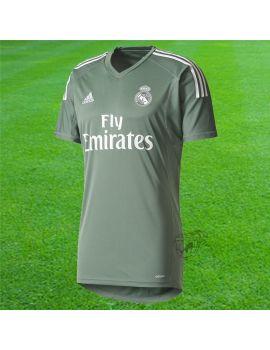 Boutique pour gardiens de but Espace supporter / replicas  Adidas - Maillot Gardien de but Real Madrid Vert Kaki B31100 / 301
