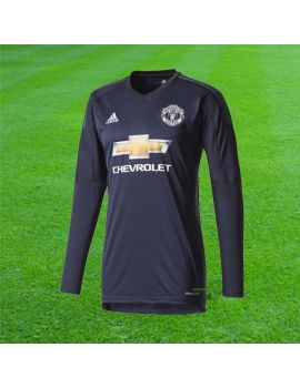 Boutique pour gardiens de but Espace supporter / replicas  Adidas - Maillot Gardien de but Manchester United 17/18 AZ7556 / 173