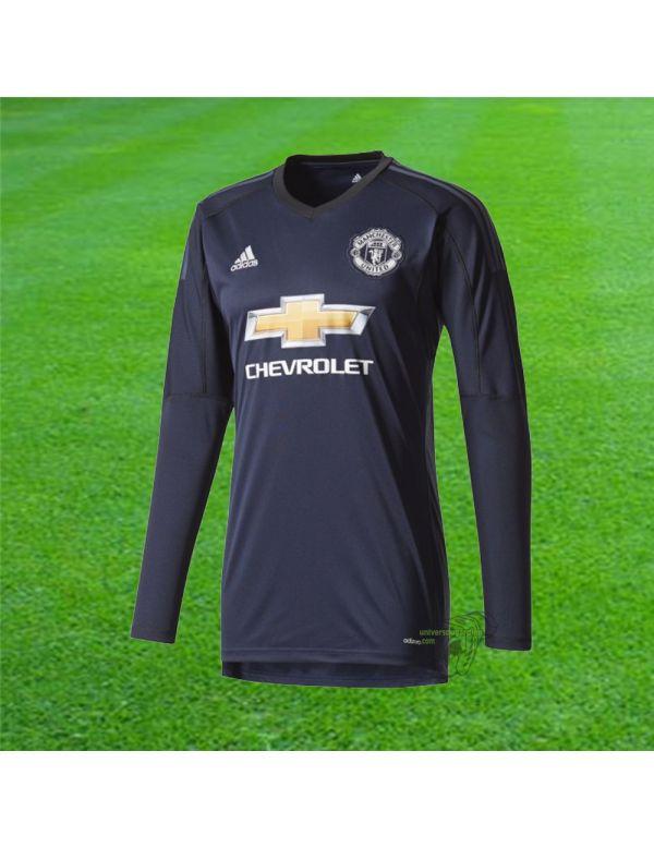 Boutique pour gardiens de but Espace supporter / replicas  Adidas - Maillot Gardien de but Manchester United 17/18 AZ7556 / 173