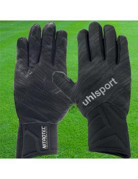 Boutique pour gardiens de but Accessoires  Uhlsport - Gant de joueur de champ Noir Nitrotec 1000969-01 / 71