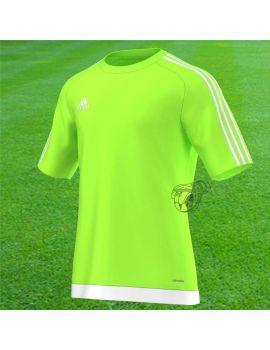 Boutique pour gardiens de but Maillots gardien junior  Adidas - Maillot Estro MC vert fluo Junior S16161 / 181