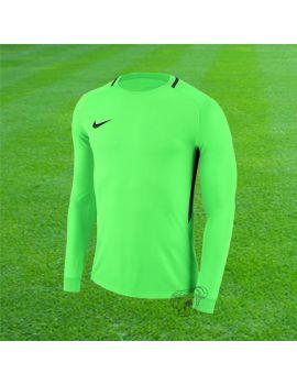 Boutique pour gardiens de but Maillots manches longues  Nike - Maillot Park III Adulte Manches longues Vert fluo 894509-398 / 33