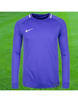 Maillot de gardien de but Nike Junior Manches longues violet