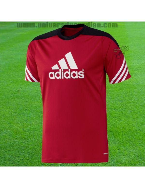 Boutique pour gardiens de but Polos / t-shirts  Adidas - Maillot Sereno Rouge Junior D82939