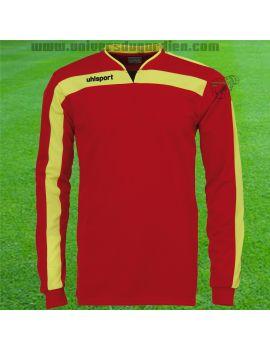 Boutique pour gardiens de but Maillots gardien junior  Uhlsport - Maillot LIGA Gardien Junior Rouge 1005571-02
