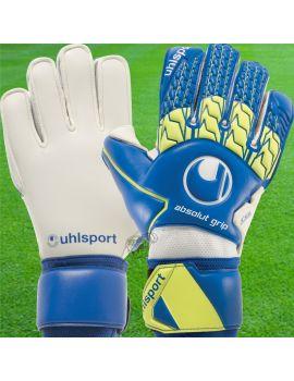 Uhlsport - Absolutgrip Bleu 1011074-01 / 83 Gants de gardien Match dans votre boutique en ligne Univers du Gardien