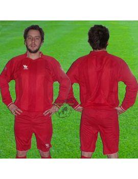Boutique pour gardiens de but Kit Gardien (maillot  short)  KIT GK ZENA ROUGE 975/04