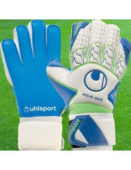 Uhlsport - Aquasoft Blanc 1011072-01 / 191 Gants Spécifiques Pluie boutique en ligne Gardien de but
