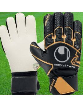 Boutique pour gardiens de but Gants avec barrettes junior  Uhlsport - Soft Resist Supportframe Junior 1011077-01 / 83
