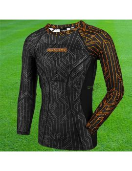 Boutique pour gardiens de but Sous maillots gardien  Reusch - Compression 3/4 Undershirt Padded Pro 3713500-783 / 45