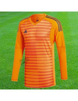 Adidas - Maillot Manches longues Adipro18 Orange Noir