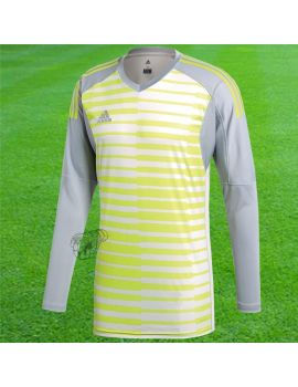 Adidas - Maillot Manches longues Adipro18 Gris Vert clair