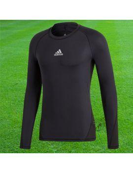 Boutique pour gardiens de but Sous maillots gardien  Adidas - Maillot compression manches longues Noir CW9486 / 172