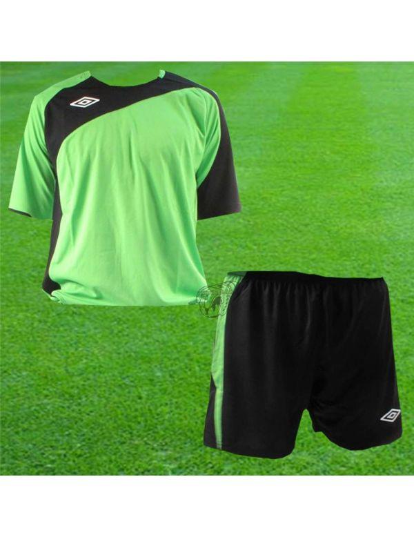 Boutique pour gardiens de but Kit Gardien (maillot  short)  Umbro - Kit Maillot Euro + Short Euro Vert Noir