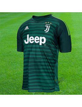 Boutique pour gardiens de but Maillot manches courtes  Adidas - Maillot Gardien de but Juventus Turin Vert CF3490 / 123