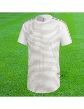 Adidas - Maillot Manches courtes Tango Graphic 18 Blanc Or CV9842 / 53 Maillot manches courtes boutique en ligne Gardien de but