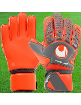 Univers du gardien - Gants Aerored Supersoft Gris Orange