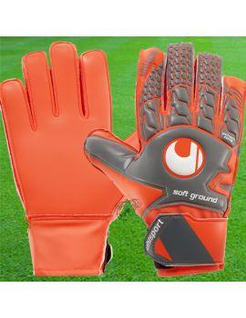 Boutique pour gardiens de but Gants de gardien junior  Uhlsport - Aerored Soft Advanced Gris Orange 1011062-02 / 151