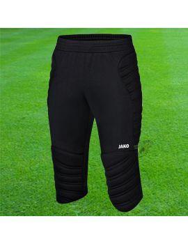 Boutique pour gardiens de but Pantalons 3/4 gardien  Jako - Pantalon de gardien de but Capri Protect Noir 8938-08 / 24
