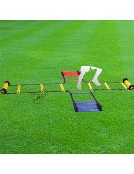 Boutique pour gardiens de but Petit matériel d'entraînement  Echelle de rythme en croix EN321 TR