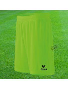 Boutique pour gardiens de but Shorts Joueur (sans protection)  Erima - Short Rio 2.0 Vert Fluo 3151801 / 42
