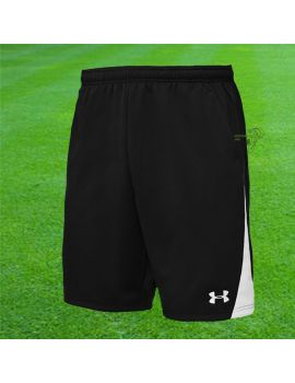 Boutique pour gardiens de but Shorts Joueur (sans protection)  UNDER ARMOUR - DOMINATE 9'' KNIT SHORT NOIR/BLANC 1208662001