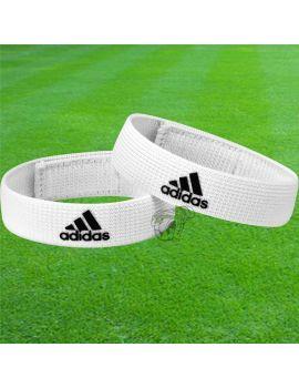 Boutique pour gardiens de but Chaussettes gardien  Adidas - Fixe chaussettes blanc 604432 / 301
