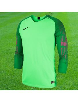 Boutique pour gardiens de but Maillots gardien junior  Nike - Maillot de gardien de but Jersey Vert fluo Junior 898046-398 / 92