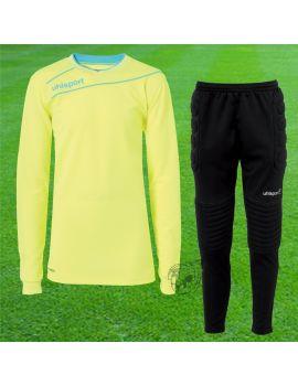Boutique pour gardiens de but Kit gardien junior  Uhlsport - Kit de gardien STREAM 3.0 Junior Jaune fluo 1005703 03