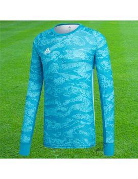 Adidas - Maillot manches longues Adipro 19 Bleu ciel