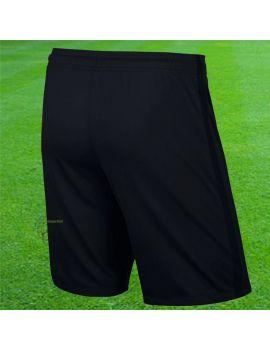 Nike - Short Knit League Noir Jaune fluo